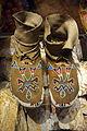Shoshone moccasins, c. 1895 - Bata Shoe Museum - DSC00551.JPG