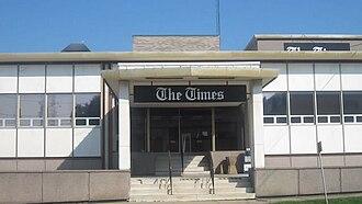 The Times (Shreveport) - Shreveport Times office building on Lake Street in Shreveport, Louisiana
