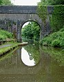 Shropshire Union Canal Bridge No 40, near Norbury, Staffordshire - geograph.org.uk - 1391511.jpg