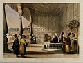 Shuja Shah Durrani and Men in his decorated palace Wellcome V0050531.jpg