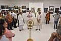Shyamal Kumar Sen Addressing - 43rd PAD Group Exhibition Inauguration - Kolkata 2017-06-20 0265.JPG