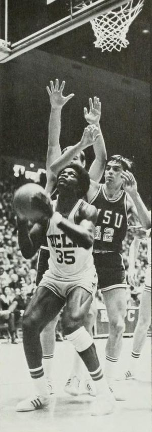 Sidney Wicks - Wicks being double-teamed in a 1971 game