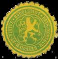 Siegel Rudolstadt (um 1900).png