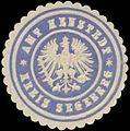 Siegelmarke Amt Henstedt Kreis Segeberg W0360484.jpg
