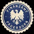 Siegelmarke Finanzamt - Paderborn W0235926.jpg