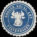 Siegelmarke Grossh. Meckl. Amt Stavenhagen W0345840.jpg
