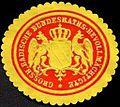 Siegelmarke Grossherzoglich Badische Bundesraths - Bevollmächtigter W0227204.jpg