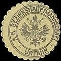 Siegelmarke K.K. Bezirkshauptmannschaft Urfahr W0329171.jpg