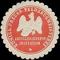 Siegelmarke K.Pr. Feldzeugmeisterei Artilleriedepot-Inspektion W0379411.jpg