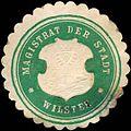 Siegelmarke Magistrat der Stadt - Wilster W0220145.jpg