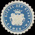Siegelmarke Siegel der Stadt Kamen in Westfalen W0383164.jpg