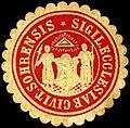 Siegelmarke Sigil. Ecclesiae Civit. Sohrensis W0219232.jpg