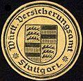 Siegelmarke Württembergisches Versicherungsamt - Stuttgart W0227927.jpg