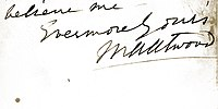 Signature of Mary Anne Atwood in 1897.jpg