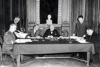 Sikorski–Mayski agreement - The signing of the Sikorski–Mayski agreement