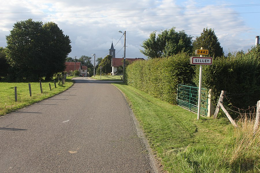 Entrée de Silley-Amancey (Doubs).