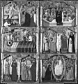 Simone dei Crocifissi - New Testament and Apocryphal Scenes with Saints - Walters 37723.jpg