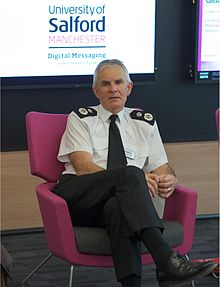 Sir Peter Fahy visits the University of Salford.jpg