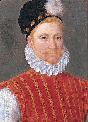 Marian civil war - Sir William Kirkcaldy of Grange, painted by Jean Clouet