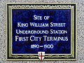 Site of King William Street Underground Station First City Terminus.jpg