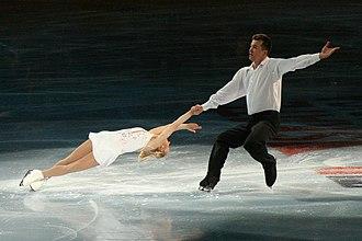 Death spiral (figure skating) - Forward inside death spiral
