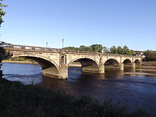 Skerton Bridge, Lancaster, England - North End.JPG