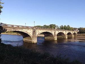 Skerton Bridge - Image: Skerton Bridge, Lancaster, England North End