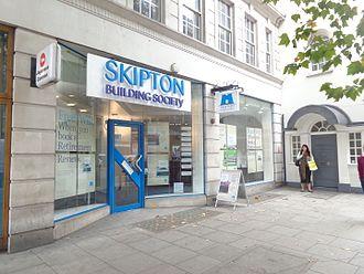 Skipton Building Society - Skipton Building Society, High Holborn, London.