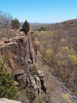Sleeping Giant (Connecticut) - View from the Giant's Chin