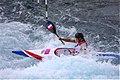 Slalom canoeing 2012 Olympics W K1 FRA Emilie Fer.jpg