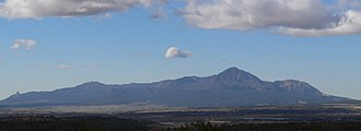 Ute Mountain - Image: Sleeping Ute small