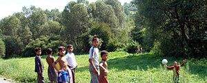 Romani people in Slovakia - Roma children in Eastern Slovakia