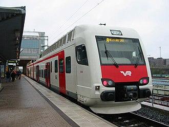 Helsinki commuter rail - Image: Sm 4 Pasila