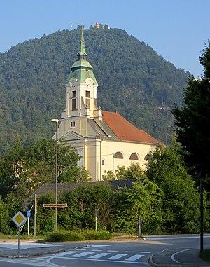 Šmartno pod Šmarno Goro - Saint Martin's Church below Mount Saint Mary