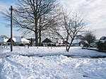 File:Snow covered green in Littlepark Avenue - geograph.org.uk - 1653098.jpg