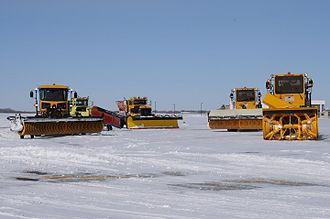 Wichita Dwight D. Eisenhower National Airport - Snow removal equipment (2011)