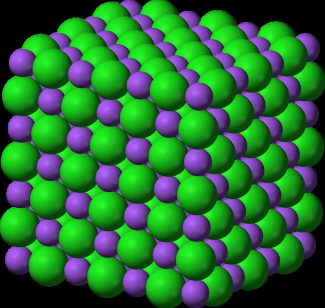 kristalna struktura soli