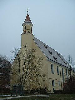 Söflingen Abbey church building in Ulm, Tübingen Government Region, Bade-Württemberg, Germany