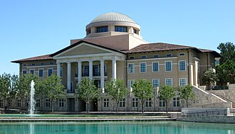 Soka University of America - Founders Hall, Aliso Viejo campus.