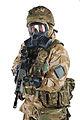 Soldier Wearing GSR General Service Respirator MOD 45154424.jpg