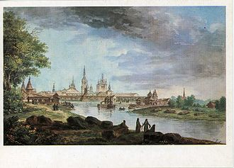 Solovetsky Monastery - The monastery in the 1780s.