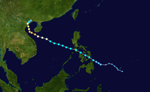 Typhoon Son-Tinh - Image: Son Tinh 2012 track