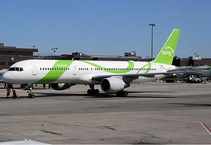 Song (airline) - A Song Boeing 757 at JFK International Airport