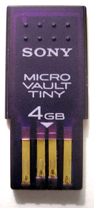 Live USB - A USB flash drive.