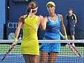Sorana Cirstea & Sabine Lisicki (2012 US Open).jpg