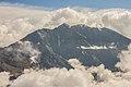 Sorebois Val d'Anniviers (2438 m). Zicht op bergen en wolken boven Zinal 02.JPG