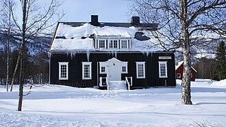 Sørkjosen - Nord-Troms Museum in Sørkjosen: one of the historical buildings