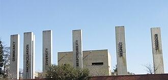 Linda Mvusi - The Apartheid Museum which Mvusi worked on