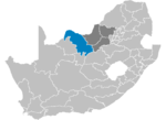 South Africa Districts showing Bophirima.png