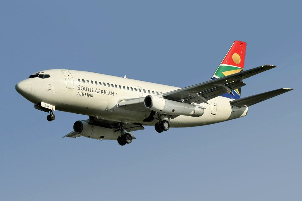 South African Airlink Boeing 737-200 Advanced Smith